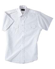 Edwards 1212 Men Short-Sleeve Navigator Shirt at GotApparel