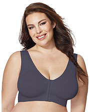 Just My Size 1274 Women Pure Comfort FrontClose Wirefree Bra at GotApparel