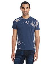 Tie-Dye 1385 Men 100% Ringspun Cotton Bleach-Out Tie-Dye T-Shirt at GotApparel