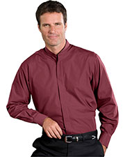 Edwards 1396 Men Banded Collar Long-Sleeve Shirt at GotApparel