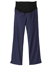 White Swan 14378 Fundamentals Maternity Pant With Stretch Panel at GotApparel