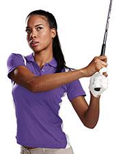 TM Performance 143 Women's Blitz Ultracool Knit Polo Shirt at GotApparel
