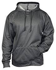 Badger 1450 Men Pro Heather Fleece Hooded Sweatshirt at GotApparel