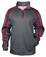 Badger 1481 Men Fusion 1/4-Zip Fleece at GotApparel
