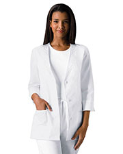 Cherokee 1491 Women 3/4-Sleeve Embroidered Jacket at GotApparel