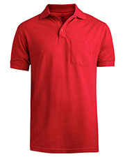 Edwards 1505 Men Pique Polo Short-Sleeve With Pocket at GotApparel