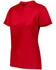 Augusta 1567AUG Women's Attain Two-Button Jersey at GotApparel