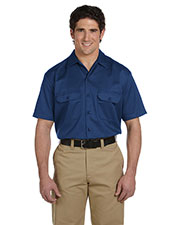 Dickies 1574T Unisex Tall Short-Sleeve Work Shirt at GotApparel