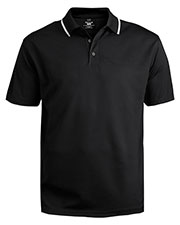 Edwards 1575 Men Tipped Collar Short Polo Shirt at GotApparel