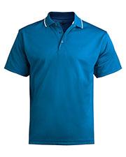 Edwards 1575 Men Tipped Collar Short Polo Shirt at GotApparel