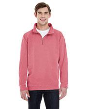 Comfort Colors 1580 Men Quarter-Zip Sweatshirt at GotApparel