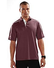 TM Performance 174 Men's Titan Ultracool Short-Sleeve Knit Polo Shirt at GotApparel