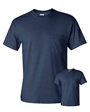 Gildan G230 Men Ultra Cotton  6 Oz. Pocket T-Shirt 2-Pack at GotApparel