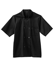 Five Star Mens 18011 S Moisture Wicking Mesh Back Chef Coat at GotApparel