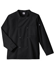 White Swan 18017 Long Sleeve Moisture Wicking Mesh Back Chef Coat at GotApparel