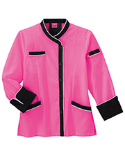 Five Star Women 18038 Long Sleeve Executive Coat With Moisture Wicking Mesh Back at GotApparel