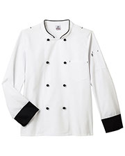 Five Star Unisex 18545 Long Sleeve Executive Chef Coat at GotApparel
