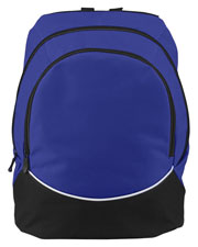 Augusta 1915 Unisex Large Tri-Color Backpack at GotApparel