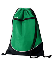 Augusta Drop Ship 1920 Unisex Tri-Color Drawstring Backpack at GotApparel