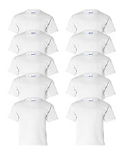 Gildan G200B Boys Ultra Cotton 6 Oz. T-Shirt 10-Pack at GotApparel