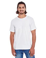 Custom Embroidered American Apparel 2001ORW Men 4.3 oz Organic Fine Jersey Classic T-Shirt at GotApparel