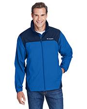 Custom Embroidered Columbia 2015 Men 1.9 oz Glennaker Lake Rain Jacket at GotApparel