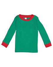 Rabbit Skins 201Z Toddler 5.0 oz Long-Sleeve Pajama Top at GotApparel