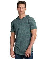 Next Level 2022 Unisex Mock Twist Short Sleeve Hoody T-Shirt at GotApparel