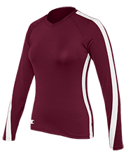 Champion 2033TG Girls Long Sleeve Volleyball at GotApparel