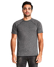 Next Level 2050 Men Mock Twist Raglan T-Shirt at GotApparel