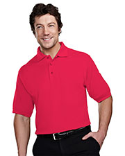 Tri-Mountain 205 Men Stain Resistant Pique Golf Shirt at GotApparel