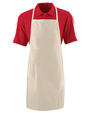 Augusta 2070 Unisex Long Cotton Apron at GotApparel