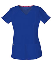 Heartsoul 20710 Women Pitter-Pat Shaped V-Neck Top at GotApparel