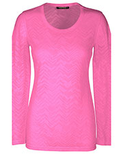 "Heartsoul 20820 Women ""after Your Heart"" Long-Sleeve Knit Tee at GotApparel"