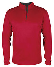 Badger 2102 Boys B-Core Youth 1/4-Zip at GotApparel