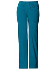Cherokee 21100P Women Low Rise Flare Leg Drawstring Cargo Pant at GotApparel