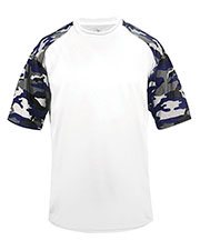 Badger 2141 Boys Youth Camo Sport Tee at GotApparel