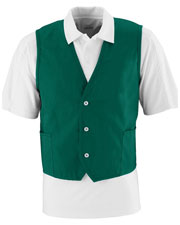 Augusta 2145 Men Work Vest With Pockets at GotApparel