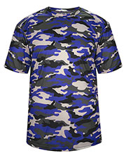 Badger 2181 Boys Youth Camo Tee at GotApparel