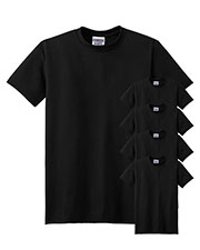 Jerzees 21M Men 5.3 Oz. 100% Polyester Sport With Moisture Wicking T-Shirt 5-Pack at GotApparel