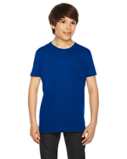 Custom Embroidered American Apparel 2201 Youth 4.3 oz Fine Jersey USA Made Short-Sleeve T-Shirt at GotApparel