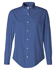 Van Heusen 13V0110 Women Pinpoint Oxford Shirt at GotApparel