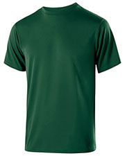 Holloway 222523 Men Polyester Short Sleeve Gauge Shirt at GotApparel