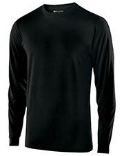 Holloway 222525 Men Polyester Long Sleeve Gauge Shirt at GotApparel