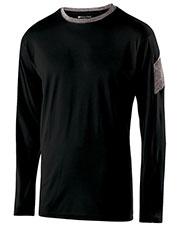 Holloway 222527 Men Polyester Long Sleeve Electron Shirt at GotApparel