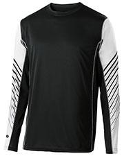 Holloway 222541 Unisex Arc Shirt Long-Sleeve at GotApparel