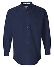 FeatherLite 3281 Men Long Sleeve Stain-Resistant Twill Shirt at GotApparel