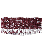 Holloway 223844 Acrylic Rib-Knit Ombre Ascent Headband at GotApparel
