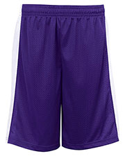 Badger Sportswear 2241 Youth Workout Elastic Wiast Short at GotApparel