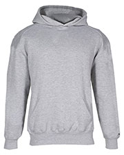 Badger Sportswear 2254 Youth Performance Hooded Sweatshirt at GotApparel